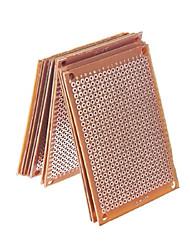 cheap -20pcs prototype paper copper pcb universal experiment matrix circuit board 5x7cm