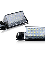 cheap -2pcs/set Led License Plate Light for BMW E36 318is 318ti