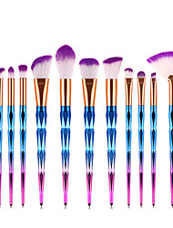 cheap -Professional Makeup Brushes 12pcs Soft Full Coverage Lovely Comfy Plastic for Makeup Set Makeup Tools Makeup Brushes Blush Brush Foundation Brush Makeup Brush Eyeshadow Brush