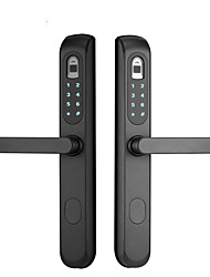 abordables -KD&DS Acier inoxydable Serrure / Verrouillage d'empreinte digitale / Intelligent Lock Smart Home Security Système RFID / Déblocage d'empreinte digitale / Déblocage du mot de passe Pour la Maison