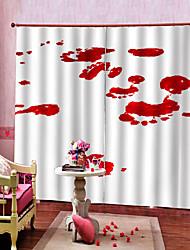 abordables -rideaux prêts à l'emploi uv digtal impression épaississement blackout rideau personnalisé tissu chambre / salon / bar rideau