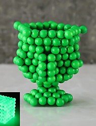 cheap -216 pcs 5mm Magnet Toy Magnetic Balls Building Blocks Super Strong Rare-Earth Magnets Neodymium Magnet Neodymium Magnet Luminous Glow in the Dark Stress and Anxiety Relief Kid's / Adults' / Children's