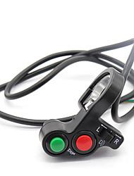 Недорогие -3 в 1 мотоцикл клаксон указателя поворота для 22 мм руль скутер
