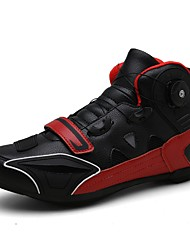 cheap -Men's Comfort Shoes Leather Summer / Spring & Summer Sporty / Casual Athletic Shoes Cycling Shoes / Walking Shoes Breathable Black / Yellow / Red / Non-slipping