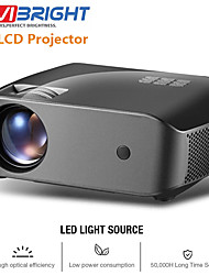 cheap -VIVIBRIGHT F10/F10UP MINI Projector 1280*720P,2800 Lumens Android WIFI LCD LED Proyector Support 1080P 3D HD Video Beamer Home Entertainment Cinema Video, New HDMI USB Video Beamer