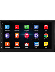 cheap -7'' Android 8.1 Double 2 DIN 16G Quad Core GPS Car Stereo MP5 Player FM support Rear Camera