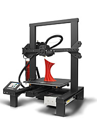 cheap -Longer LK4 3D Printer DIY with New Design Aluminium Frame/ Build Volume 220*220*250mm/ 2.8 inch Smart Touch Screen