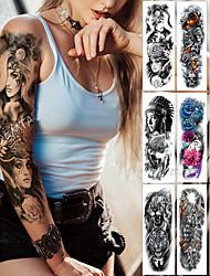cheap -2 pcs Temporary Tattoos Classic / Best Quality Body / brachium / Leg Water-Transfer Sticker