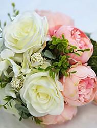 Недорогие -Искусственные цветы Свадебные цветы Букеты на стол 1 / Одноместный Ваза