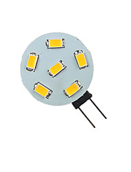 cheap -1pc 1.5 W LED Bi-pin Lights 200 lm G4 6 LED Beads SMD 5730 9-30 V