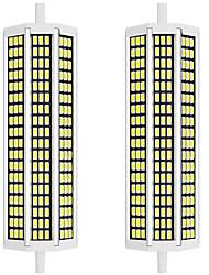 cheap -2pcs 20 W LED Corn Lights 2000 lm R7S 162 LED Beads SMD 5733 New Design Warm White White 85-265 V