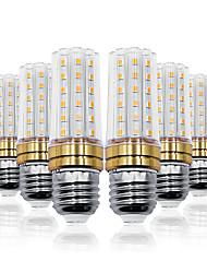 Недорогие -Loende 6 шт. 6 Вт светодиодные фонари кукурузы smd2835 e27 60 светодиодов 85-265 В светодиодные лампы Whtie теплый белый