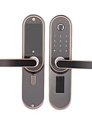 cheap -Factory OEM RX0815 Aluminium alloy lock / Fingerprint Lock / Intelligent Lock Smart Home Security System Fingerprint unlocking / Password unlocking / Mechanical key unlocking Household / Bedroom