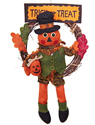 cheap -Holiday Decorations Halloween Decorations Decorative Objects Decorative Orange 1pc