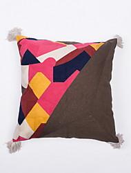 cheap -Set of 1 Velvet Pillow Cover & Insert, Geometric Leisure Throw Pillow