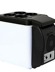 Недорогие -Мини-холодильник Электрический кулер и теплее 6-10 L Один экземляр С теплоизоляцией за Полипропилен + ABS на открытом воздухе Отдых и Туризм Белый
