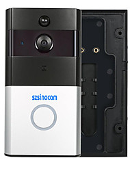 cheap -szsinocam@Smart IP Video Intercom WI-FI Video Door Phone Door Bell WIFI Doorbell Camera For Apartments IR Alarm Wireless Security Camera