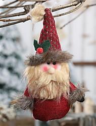 cheap -Christmas Figurines Christmas Fabric Mini Novelty Christmas Decoration