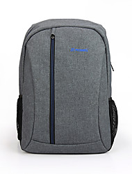 cheap -PROWELL 15.6 Inch Laptop Commuter Backpacks Polyester / Bast & Leaf Fibre for Business Office for Colleages & Schools for Travel Water Proof Shock Proof