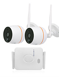 cheap -Camera 2CH Wireless Wifi Set Mini Wireless Camera Kit Monitoring Set