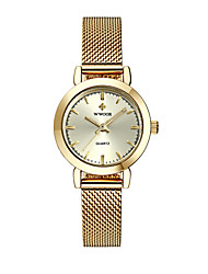 cheap -Women's Quartz Watches Quartz Formal Style Modern Style Casual Water Resistant / Waterproof Silver / Gold / Rose Gold Analog - Rose Gold White+Golden Blushing Pink / Noctilucent