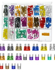 cheap -220Pcs Auto Assorted Mini & Standard Blade Fuses ATM ATO Fuse Set 2-35A
