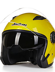 cheap -Motorcycle Dual Lens Open Face Capacete Motorcycle Vintage Style Helmets