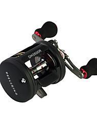 cheap -Fishing Reel Baitcasting Reel 6.3:1 Gear Ratio+11 Ball Bearings Right-handed / Left-handed Sea Fishing / Spinning