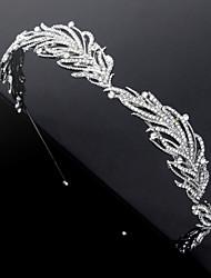 cheap -Alloy Tiaras / Headpiece with Metal / Crystals / Rhinestones 1 pc Wedding / Birthday Headpiece