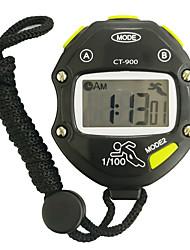 cheap -Men's Women's Sport Watch Stopwatch Digital Black Chronograph New Design Alarm Clock Digital Outdoor New Arrival - Black One Year Battery Life