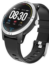 abordables -bozhuo e101-b hommes smartwatch android ios bluetooth moniteur de fréquence cardiaque étanche mesure de la pression artérielle sport calories brûlées ecg ppg chronomètre podomètre rappel du sommeil