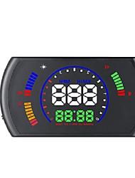 Недорогие -S600 5,8-дюймовый универсальный автомобильный дисплей HUD Head Up Display OBD2 об / мин спидометр цифровой индикатор