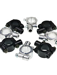 cheap -10MM Universal Aluminum Motorcycle Handlebar Mirror Adaptor Holder Mount Brackets Clamp
