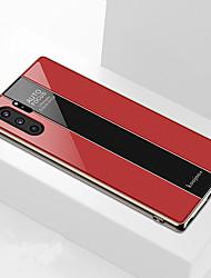 Недорогие -закаленное стекло чехол для телефона для samsung galaxy note 10 плюс примечание 10 противоударное покрытие для ПК зеркало твердая задняя крышка для samsung galaxy note 9 примечание 8 тпу край