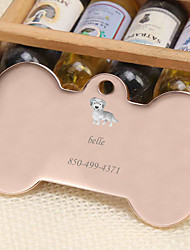 cheap -Personalized Customized Dachshund Dog Tags Classic Gift Daily 1pcs Gold Silver Rose Gold