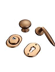cheap -HSQ-02 Door Levers Mechanical key Zinc Alloy
