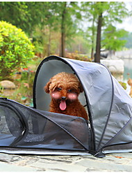 cheap -Pet Tent Outdoor Lightweight Windproof Rain Waterproof Poled Camping Tent 2000-3000 mm for Nonwoven Fabric 80*40*40 cm