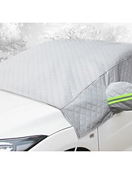 cheap -Car front windshield antifreeze cover anti-frost and snow thickening half body car clothing half cover