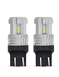 cheap -OTOLAMPARA 2pcs Best Quality Super Bright Lightness W21/5W P21/5W Aviation Aluminium Heat Dissipation High Quality Car Turn Signal Lights