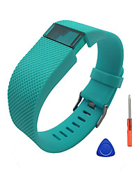 cheap -Watch Band for Fitbit Charge HR Fitbit Sport Band / DIY Tools Silicone Wrist Strap