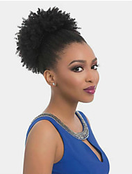 cheap -Hair weave Ponytails Party / Women Human Hair Hair Piece Hair Extension Curly 10 inch Daily Wear / Date / Street