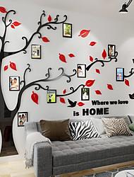 abordables -Autocollants muraux décoratifs - Autocollants muraux 3D A fleurs / Botanique Salle de séjour / Intérieur
