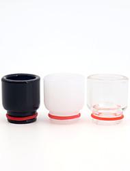 cheap -YUHETEC 810 Universal Glass Drip Tip for TFV8 Big Baby/TFV12 Prince/Griffin 25/ijust 3/ELLO Duro/Pharaoh Mini/ammit 25/Creed RTA Atomizer