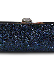 cheap -Women's Glitter / Chain Silk Evening Bag Solid Color Black / White / Blushing Pink