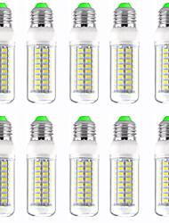 cheap -10pcs 12 W LED Corn Lights 1200 lm E14 GU10 B22 T 72 LED Beads SMD 5730 New Design Warm White White 220-240 V 110-120 V