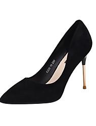 cheap -Women's Heels Stiletto Heel Pointed Toe PU(Polyurethane) Sweet / Minimalism Spring &  Fall Black / Nude