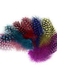 cheap -50 pcs Fishing Accessories Feather Ultra Light (UL) Fly Fishing