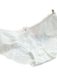 cheap -Women's Basic Seamless Panties / Briefs - Normal Low Waist Black Wine White S M L