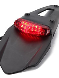 cheap -LED Motorcycle Red Taillight for Dirt Bike Street Car Motorcycle Accessories