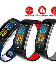 Недорогие -Q6 умный браслет спортивный шаг фитнес-трекер артериальное давление монитор сердечного ритма умные часы для Android IOS наручные часы